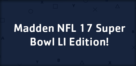 Madden NFL 17 Super Bowl LI Edition On Sale For $19.80!