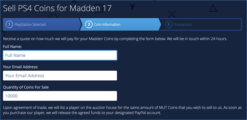 Sell Madden Coins